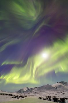 Northern Lights by Joseph Bradley of Joseph Bradley Auroras
