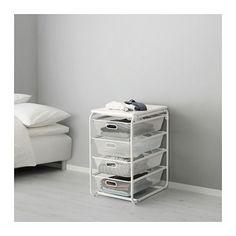 ALGOT Stativ/4 meshbackar/topphyllplan IKEA