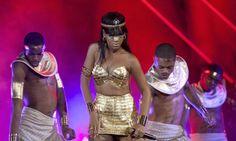 Rihanna, una diosa egipcia