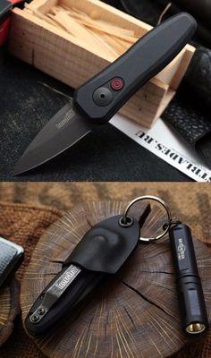Kershaw 7500BLK Launch 4 CA Legal Automatic EDC Folding Pocket Knife Blade @aegisgears