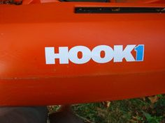 """HOOK 1 Sticker - 7.5"""" X 1.5"""" Kayak Stickers, Wilderness Systems, Kayak Fishing, Water Crafts, Kayaking, Kayaks, Handmade Crafts"""