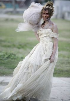 20 Pictures of Zombie Brides - Who wants to be a zombie bride!?