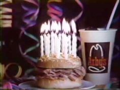 """Arby's 1981 Happy Beefday Commercial  September 1981 """"Happy Beefday"""" commercial for Arby's 17th birthday"""