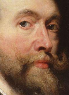Peter Paul Rubens, Selbstbildnis, Ausschnitt (Selfportrait, detail) by HEN-Magonza, via Flickr