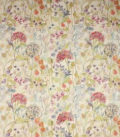 Save on our Linen Hedgerow Contemporary Fabric from Voyage Decoration; perfect for creating Curtains & Blinds. Curtains Or Roman Blinds, Linen Curtains, Curtain Material, Curtain Fabric, Pvc Fabric, Linen Fabric, Floral Fabric, Voyage Fabric, Backgrounds