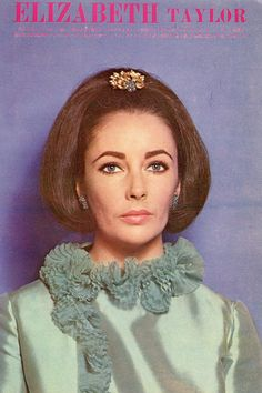 ELIZABETH TAYLOR / RAFAELLA CARRA 1965 Vintage Japan Picture Clipping 7x10 #LF/O   eBay