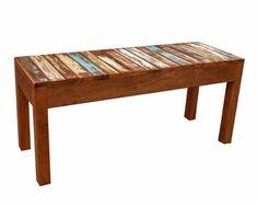 banco ripado colorido 1,00x35x45 madeira demolição peroba Mudroom, Dining Bench, 1, Woodworking, Table, Furniture, Home Decor, Outdoor Furniture, Rustic Wood Decor