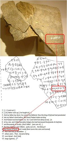 TOP-TEN ARCHAEOLOGY DISCOVERIES CONFIRMING THE BIBLE   Lesson 2 of 10: House of David Inscription   For years liberals claimed that the David in the Bible did not exist because of the lack of archeological evidence.  Then, in 1993, all that changed when Israeli archaeologist, Avraham Biran discovered Tel Dan Stele (a stele is an inscribed stone)….  To read more go to lessonsforus.com/...
