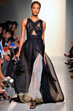 Bottega Veneta Spring/Summer 2012 silk gown  andreajanke-accessory.blogspot.com