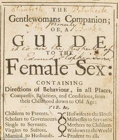 A self-help book giving women advice on how to behave in the century has sold at auction for Steve Schmidt, Etiquette And Manners, Morning Joe, Winning The Lottery, Bettering Myself, 17th Century, Self Help, How To Fall Asleep, Just Love
