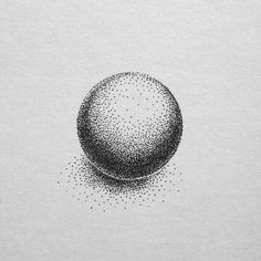 patient yet consistent doting can create impressive objects Dotted Drawings, Easy Drawings, Stippling Drawing, Stylo Art, Pointillism Tattoo, Arrow Tattoo, Ink Illustrations, Pen Art, Elements Of Art
