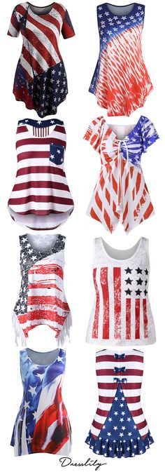 High quality American flag plus size t shirt for women in July.Explore our wide . Amy, Plus Size T Shirts, T Shirts For Women, Clothes For Women, Women's Clothes, Fashion Outfits, Womens Fashion, Blouse, Plus Size Outfits