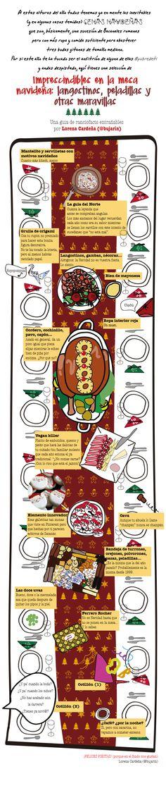 Los clásicos navideños de la mesa española