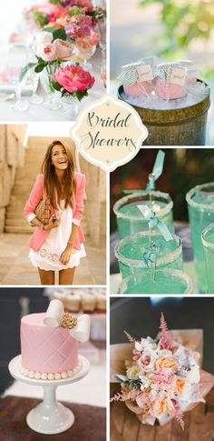 Bridal Showers- I love the brides Outfit!