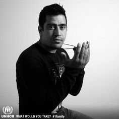 Mehran fled Pakistan in 2012. He travelled for more than a year until he reached a safe haven in Portugal. His most important thing is a gift from his mother – a talisman – that gave him strength during the journey. © CPR/ António Pedro Ferreira.   - Mehran  from Portugal    - Visit 1family: http://www.unhcr.org/1family