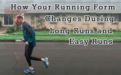 The scientific research on how your running form changes at the end of long runs, the injuries that occur as a result, and recommendations for how to avoid: