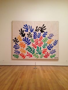 Henri Matisse: The Cut-Outs, Tate Modern, London Art Lessons, Art Painting, Art Painting Oil, Matisse Paintings, Oil Painting Abstract, Museum Of Modern Art, Matisse Cutouts, Art Movement, Watercolor Paintings Abstract