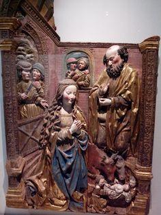 Une des premières pièces, une nativité du XVIe s. au musée de @museecluny  #exposouabe