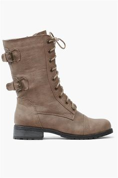 Andy Boot in Taupe
