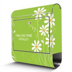 Briefkasten mit Wunschtext   banjado Manufaktur Toy Chest, Storage Chest, Toys, Decor, Home, Mailbox, Stones, Crafting, Activity Toys