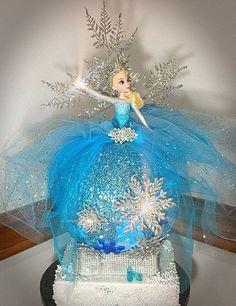 Elsa Pumpkin, Frozen Pumpkin, Unicorn Pumpkin, Pumpkin Decorating Contest, Pumpkin Contest, Pumpkin Ideas, Halloween Pumpkins, Halloween Crafts, Halloween Decorations