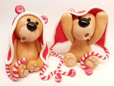 icing Santa Bears by Karolina Rit