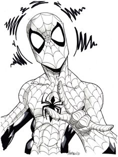 Spider-man... Spider-man by misfitcorner on DeviantArt