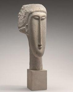 モディリアーニ「Head of a Woman」