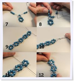 Make jewelry is totally hip. Especially bracelets are available at Groß and Kl .Make jewelry yourself: nice ideas for bracelets Seed Bead Jewelry, Bead Jewellery, Gold Jewelry, Diy Schmuck, Schmuck Design, Beaded Jewelry Patterns, Bracelet Patterns, Bracelet Making, Jewelry Making