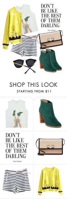 """""""yeah..."""" by omahtawon ❤ liked on Polyvore featuring Chicnova Fashion, Ted Baker, Salvatore Ferragamo, WithChic and girlsnightout"""