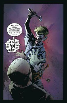 Batman - Kuolema kulkee perheessä. #sarjakuva #sarjis #egmont