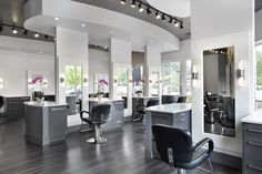 The natural light and clean, glamorous design of Erik Hendrick and Nina Ladd's Lotus Salon in Atlanta makes for perfect color and an always-increasing clientele list. - See more at: http://www.salontoday.com/features/salon-management/Architects-of-Design-Lotus-Hair-Artisans-Salon-Tour-275493951.html#sthash.NAsbPmgk.dpuf