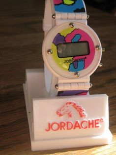 1980's JORDACHE watch
