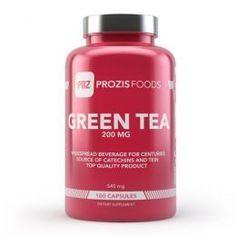 63920e13b Green Tea EGCG 200mg 100 caps Prozis Foods GreenTea 200mg - The powerful  antioxidant action of