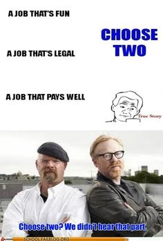 Mythbusters Lives Up to Its Name