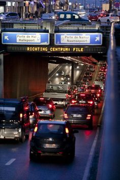 Brussels is considered to be the most traffic congested city in the world. Brussels is the hub for old national roads which normally run in straight lines.