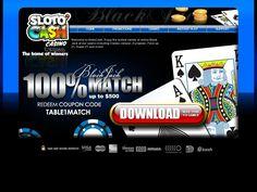 Get a huge 100% deposit match bonus and play online slots until your fingers hurt at Sloto' Cash Casino!
