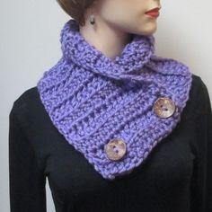 Holiday Sale, Bright Purple Cowl, Fashion Scarves, Purple Chunky Scarf, Winter Chunky Scarf, Fall Womans Scarf, Fabiana B2-022 by CeciliaAnnDesigns on Etsy