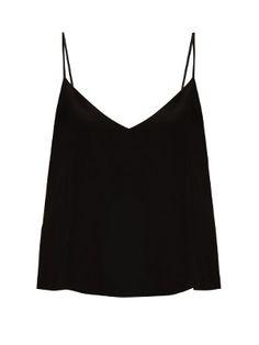 Deep V-neck silk cami top | Raey | MATCHESFASHION.COM US