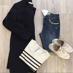Street Style | Bullboxer shoes from instagram @ bestlabelluenburg #white sneakers #sneaker #perforated sneaker #sporty #blogger #style #styleadvice #outfitoftheday #howtocombine