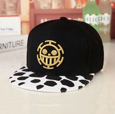 Collection Here Anime One Piece Monkey D Luffy Cotton Printing Sun Hat Luminous Hat Baseball Cap Unisex Accessories Cosplay Hip-hop Fashion Kids Costumes & Accessories Costumes & Accessories