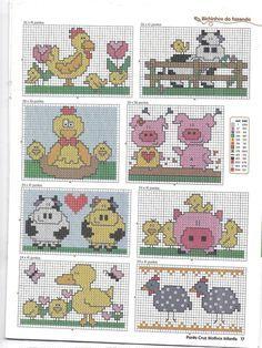 Cross stitch nursery decor \u2013 INSTANT DOWNLOAD Cross stitch \u2018Fawn\u2019 pattern \u2013 Printable Cross Stitch Pattern in PDF