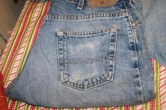 I'm SEW cheap!: Upcycled bag / purse tutorial ....or... Mean Green Blue Jeans! (pt 4)
