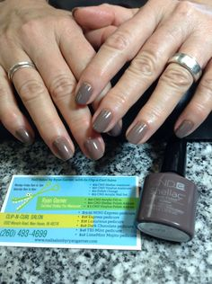 Shellac manicure, Rubble polish