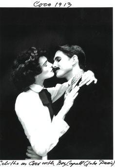 Gabrielle 'Coco' Chanel (30) and Boy Capel - 1913