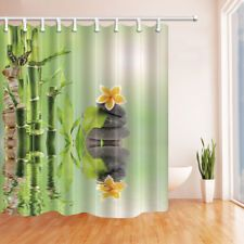 Stone walls and window Shower Curtain Bedroom Waterproof Fabric /& 12Hook 71*71in