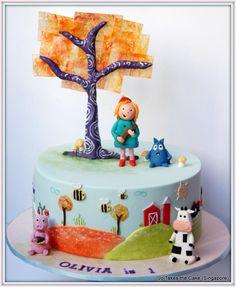 Peg+Cat - Cake by JoTakestheCake