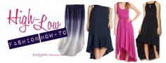 The High-Low fashion trend is hot! Here are some of my tips on how to wear it!