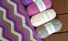 Free Crochet Pattern- The Happy Herringbone Chevron Blanket! – Two Brothers Blankets