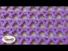 Crochet. Punto tejido a ganchillo 3.